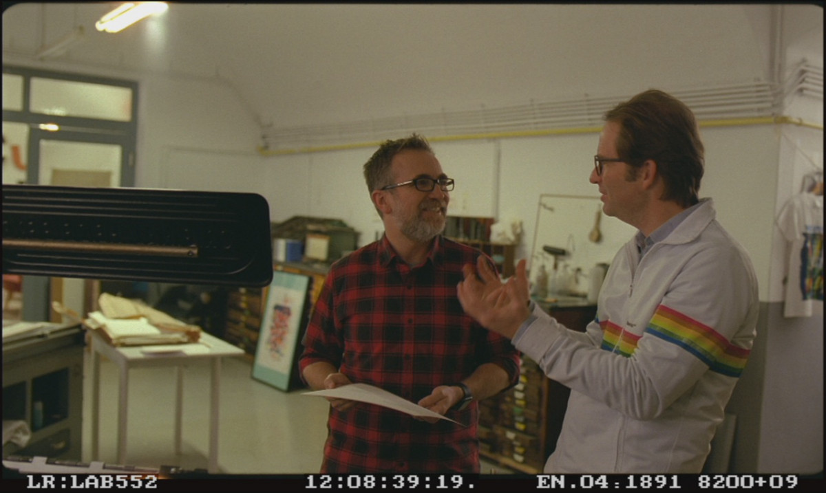 Filming An Impossible Project at Supersense in Vienna, Austria