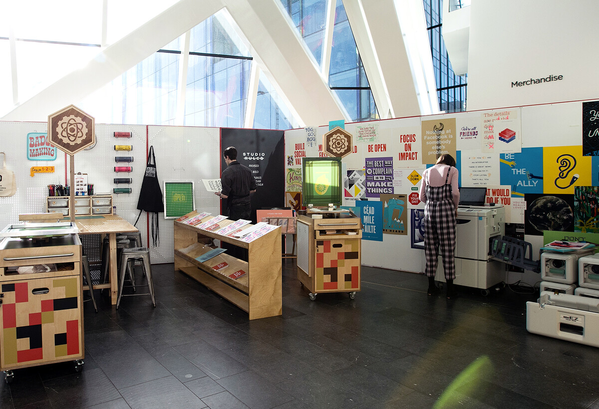 The Analog Lab at Offset 2018